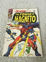 X-Men #43, VG/FN 5.0, Magneto, Quicksilver, Scarlet Witch, Cyclops, Marvel Girl
