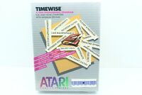 Vintage TIMEWISE Atari 400 800 XL XE Home Computer Software NEW SEALED