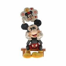 Disney Traditions Mickey Mouse Thinking of You Collectors Figurine - Boxed