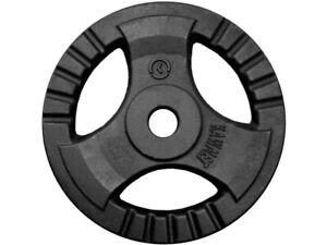 Placa de Peso de Hierro Fundido KAWMET Tri-Grip 30,5 mm - 20 kg