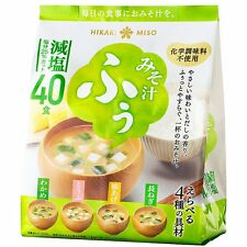 Hikari Miso Low Sodium Instant Miso Soup 40serving  From Japan