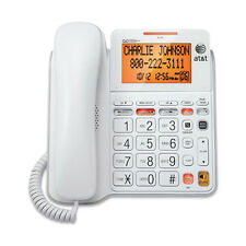 AT&T Big Button Phone - Tilt Display Large Print Caller ID and Answering system