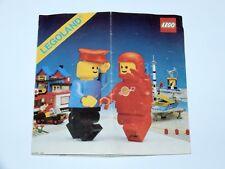 LEGO 1980 CATALOG FOLDER FOLDOUT LEAFLET