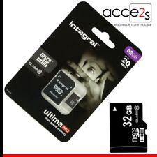 Pour Samsung GALAXY TAB 2 10.1 : Carte Mémoire Micro SD 32 Go classe 10