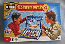 CONNECT 4 U-BUILD GAME AGES 6+  Model 25635 HASBRO kids boys girls