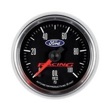 AutoMeter 880085 Ford Racing Series Electric Oil Pressure Gauge