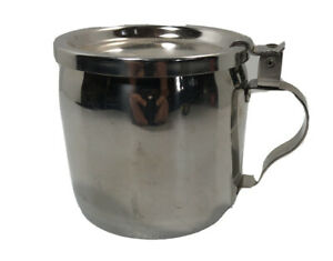 Resturant Style Vintage Cup Creamer milk Vollrath Stainless Steel Made USA Heavy