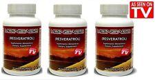 5 Moinsage  Resveratrol - 60 capsules each bottle - 5 Bottles