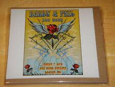 Bobby & Phil Duo Tour LIVE 3CD 3/7/2018 BOSTON Bob Weir Phil Lesh grateful dead