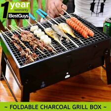 SOGA Portable Mini Folding Thick Charcoal Grill for Outdoor BBQ Camping Hunting