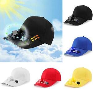 Solar Fan Hat, Sun Hat, Men's and Women's Sun Hat, Fashion Cap
