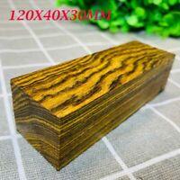 1x Mexico Bocota Wood DIY Knife Handle Scales Make Plate Material 120X40X30MM #u