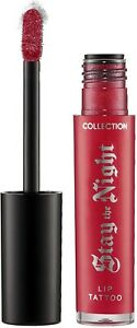 Collection Stay the Night Lip Tattoo All Shades RRP £5.99