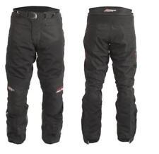 Pantalones RST color principal negro de rodilla para motoristas