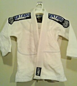 Tatami TFW Fightwear Estillo Junior, White Karate Uniform Top Robe, Size Medium