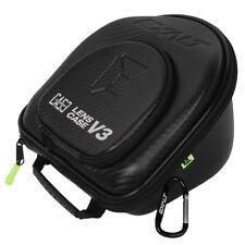 Exalt Paintball Carbon Series Lens Case V3 - Black / Lime