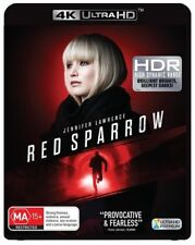 Red Sparrow 4K UHD (Blu-ray, 2018) NEW & SEALED