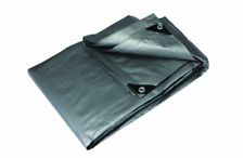 "11' 4"" x 18' 6"" Silver Heavy Duty Reflective All Purpose Weather Resistant Tarp"