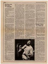 Paul Butterfield Interview/article 1973 RS-XCSA