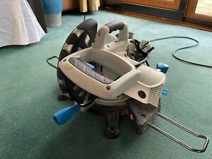 Compound Mitre Saw Mac Allister Power Tool Bench Cutting Cutter