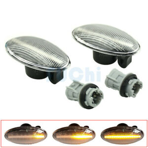 Dynamic Sequential LED Side Marker Light For Suzuki Swift Fiat Sedici Opel