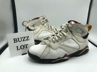 Nike Air Jordan 7 VII Retro Cardinal Size 10.5 WHITE BRONZE RED GOLD 304775-104
