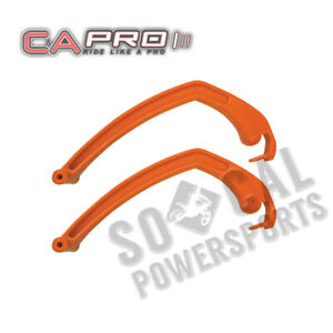 """C&A PRO Replacement Snowmobile Loops ORANGE Arctic Cat Panther 660 136"""" (2008)"""