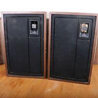 Vintage Pair of Zenith Allegro 3000 Stereo Speakers