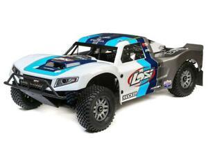 Losi 5IVE-T 2.0 V2 1/5 Bind-N-Drive 4WD SCT Grey/Blue/White LOS05014V2T1 New!!