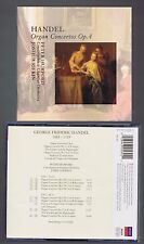 HANDEL BOX SET 2 CDS ORGAN CONCERTOS OP.4/ PETER HURFORD/ JOSHUA RIFKIN
