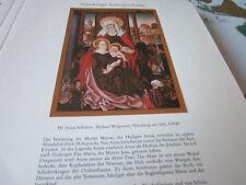 Nürnberg Archiv 3 Kunstgeschichte 3044 Hl Anna Selbdritt 1510 Michael Wohlgemut