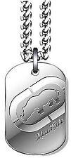 MEDAGLIA MARC ECKO THE MAESTRO EC0115INT targhetta lunga in acciaio moda giovane