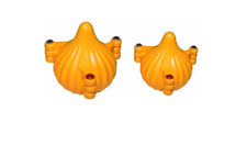 Moulds 2 Pcs Small and Medium Modak Maker Plastic Mould, Yellow (Pack of 2)