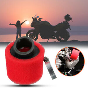 Motorcycle 35mm Sponge Foam Air Filter Cleaner Bent Neck Fit For 50 70 90 110CC