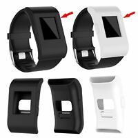 Soft Silicone Band Cover TPU Skin Case Protector for Fitbit Surge Smartwatch New