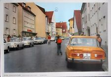 Alfa Romeo Giulia Super Berlina 105 Mint Condition German Road Safety Poster