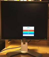 """DELL 1908FPT 19"""" 1280X1024 LCD FLAT PANEL MONITOR ADJUSTABLE SWIVEL STAND +CABLE"""