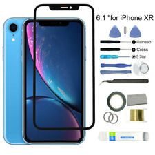 REPLACEMENT PHONE OUTER FRONT GLASS SCREEN REPAIR KIT WITH TOOLS FOR IPHONE XR