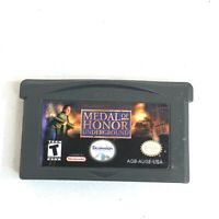 Medal of Honor: Underground (Nintendo Game Boy Advance GBA) AUTHENTIC CART ONLY