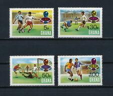 Ghana  525-8 MNH, World Cup 1974