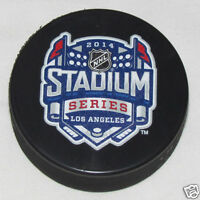 2014 STADIUM SERIES PUCK Outdoor Game Los Angeles Kings vs Anaheim Ducks DODGER