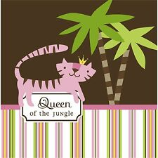 QUEEN OF THE JUNGLE BABY SHOWER Party Supplies Lunch Dinner Napkins (16 Pk)