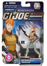 "G.I. JOE Renegades Collection_SCARLETT 3.75 "" action figure_Undercover Agent_MIP"