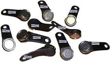 10 x Black Magnetic Dallas Keys - High Quality