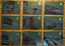 Star Trek 30 Years Phase 1 chase card set of 9 technology gold holofoil tech E1