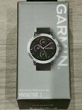GARMIN Vivoactive 3 GPS Smartwatch (Black and Stainless Steel) - New