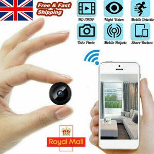 1080P Wireless WiFi Mini IP CCTV Camera Smart Home Security Night Vision Spy Cam