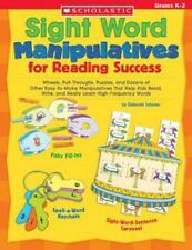 Sight Word Manipulatives for Reading Success: Wheels, Pull-Throughs,-ExLibrary