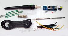 Digital Soldering Iron Station Temperature Controller Kits para HAKKO T12 Handle