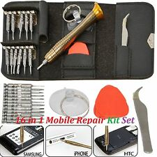 Mobile Phone Repair Tool Kit 16 in 1 Screwdriver SET FOR Mobile Phones Tablet Pc